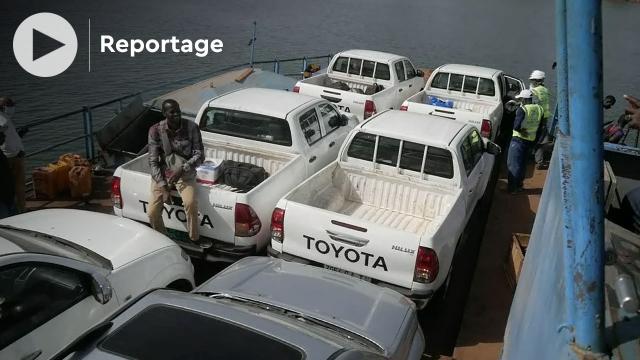 Vidéo. Traversée du fleuve Sénégal: le ferry, trait d'union entre Bafoulabé et Kayes