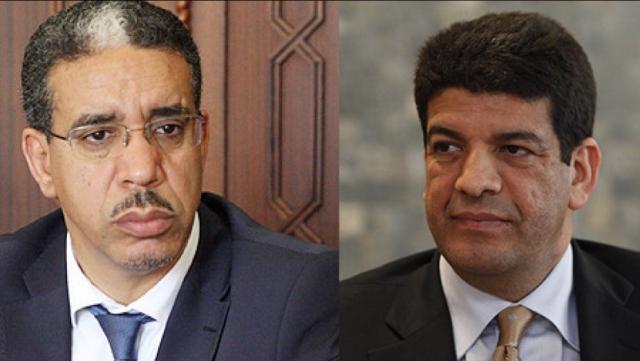 Aziz Rabbah et Mustapha Bakkoury