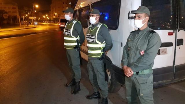 الأمن ينشر وحداته بشوارع طنجة تطبيقا لحظر التجوال الليلي