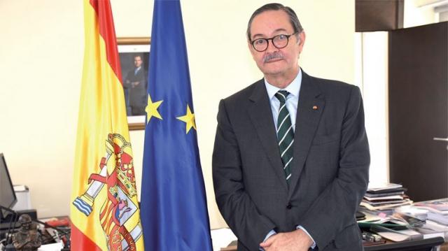 Image: Ricardo Díez-Hochleitner Rodríguez, ambassadeur d'Espagne au Maroc