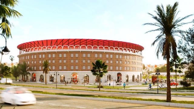projet de la remise à niveau de la Plaza Toro à Tanger
