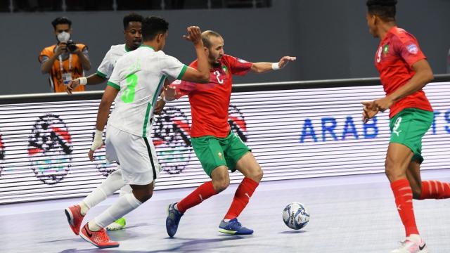 Maroc futsal Arabie saoudite