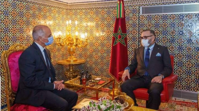 Roi Mohammed VI - Chakib Benmoussa - CSMD - Fès - Audience royale