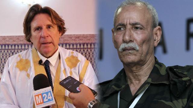 Image: Brahim Ghali et  Pedro Ignacio Altamirano
