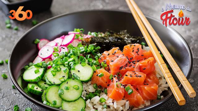 Cover : A l'heure du ftour ep12 : Le poke bowl fraîcheur au saumon et à l'avocat