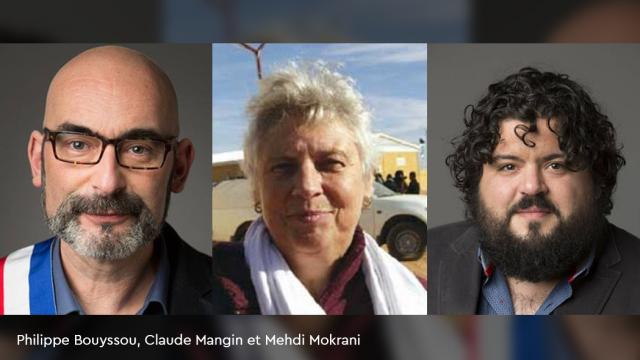Philippe Bouyssou, Claude Mangin et Mehdi Mokrani