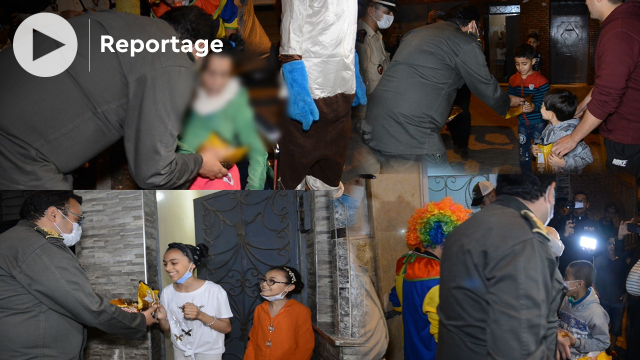 cover vidéo :هكذا أدخل قائد سباتة الفرحة على أطفال الحي ليلة العيد
