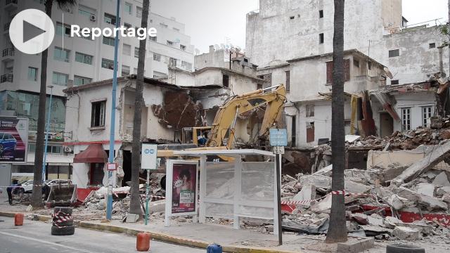 """cover""""Au Niz d'hirondelles"""" s'est envolé, démolition du plus célèbre restaurant vietnamien de Casablanca"""