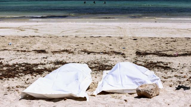 Migrants cadavres