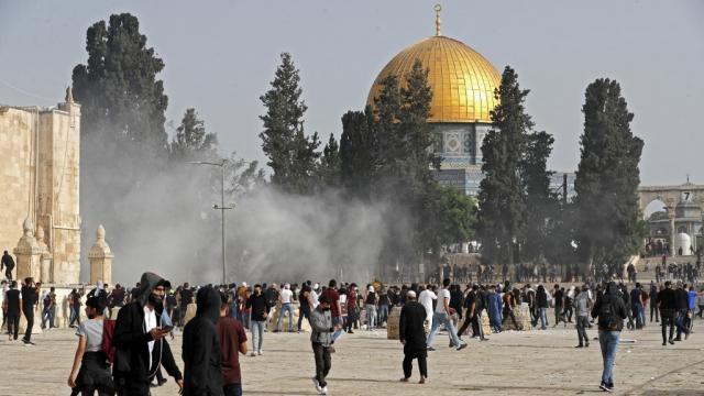 Jérusalem - heurts - Al Aqsa
