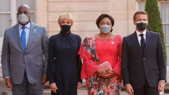 Macron et Tshisekidi