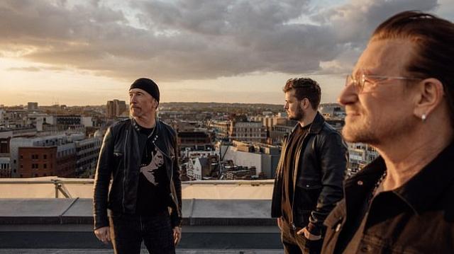 Martin Garrix, Bono et The Edge-2