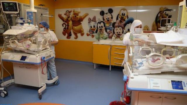 Casablanca - Naissance 9 nouveaux-nés - Clinique Aïn Borja - Maroc - Mali