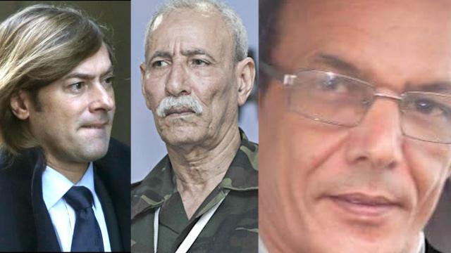 image Le juge espagnol Santiago Pedraz Gomez+ El Fadel Breika +  Brahim Ghali