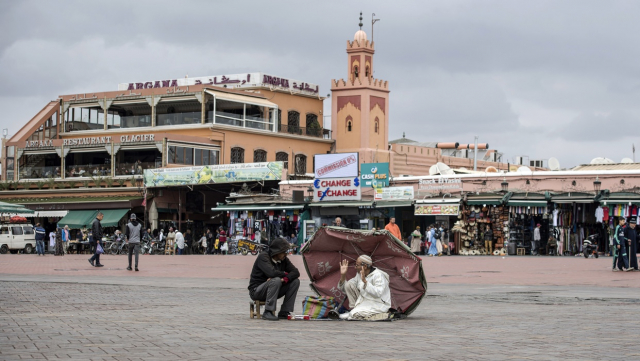 Place Jemaa el fna Marrakech Covid