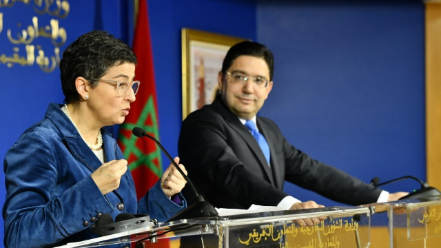 Nasser Bourita et Arancha Gonzalez Lay