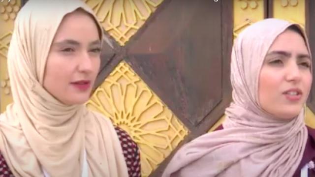 Sumaya Achedad et Marwa El Ouahabi