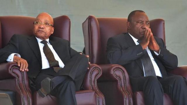 Ramaphosa-Zuma, vers une guerre fratricide au sommet de l'Etat