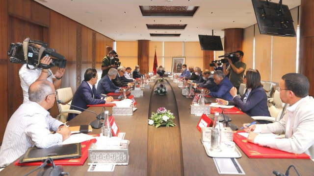 réunion El Othmani partis politiques