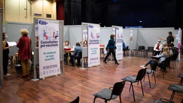 France - centre de vaccination