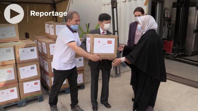 cover Ambassade du Japon: opération de distribution d'aide alimentaire à Casablanca