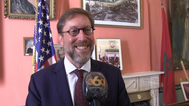 David Greene, chargé d'Affaires à l'ambassade américaine à Rabat.
