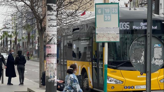 Bus Alsa de Casablanca