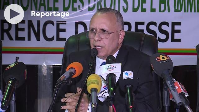 Me Ahmed Salem Bouhoubeiny, président de la Commission Nationale des Droits de l'Homme (CNDH).
