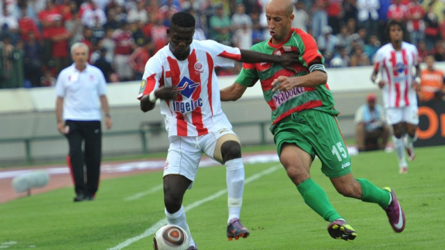 Wydad-Mouloudia d'Alger, le 30 juillet 2011 au Complexe Mohammed V de Casablanca.