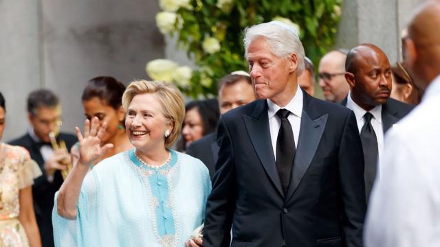 HIllary Clinton en caftan - Bill Clinton
