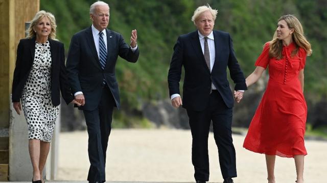 Joe Biden - Boris Johnson - Cornouailles - G7 - Etats-unis - Royaume-Uni