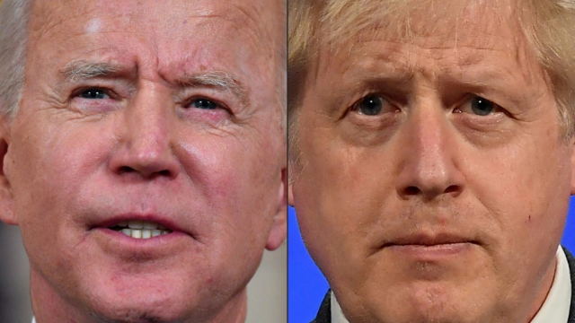 Joe Biden - Boris Johnson