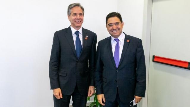 Antony Blinken et Nasser Bourita