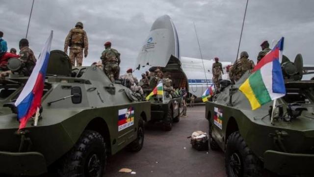 russes en Centrafrique