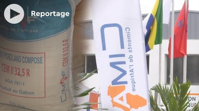 Vidéo. Le marocain CIMAF Gabon lance une nouvelle gamme de ciment dédiée aux professionnels