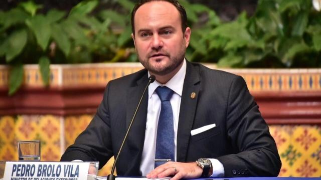 Le ministre des Affaires étrangères de la République du Guatemala, Pedro Brolo Vila.