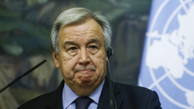 Antonio Guterres - ONU