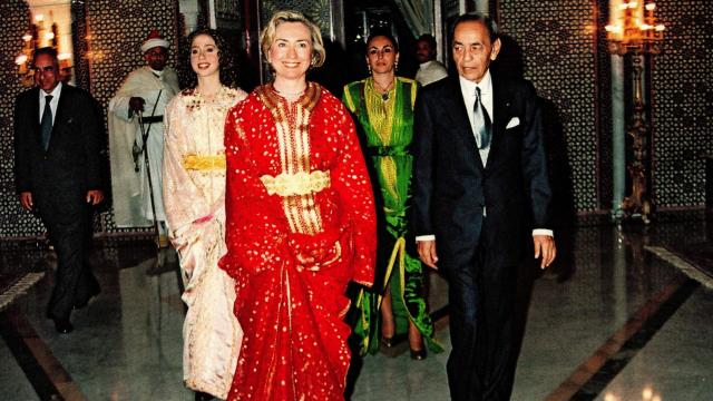 Hillary Clinton en Caftan 2