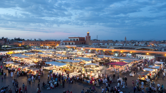 Jemaâ El Fna - Marrakech