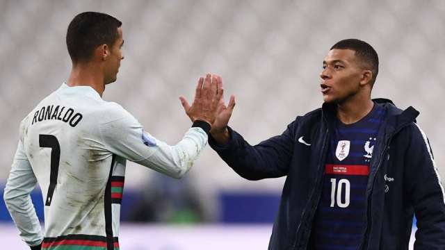 Ronaldo et Mbappé