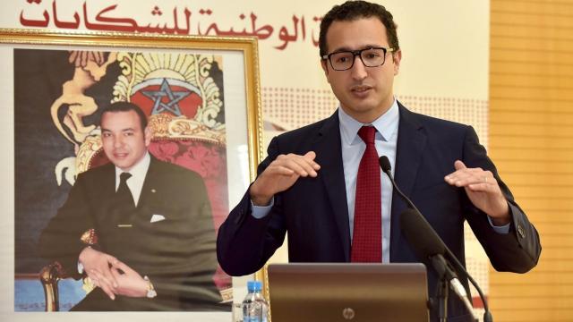 Othman El Ferdaous, ministre de la Culture, de la jeunesse et des sports.