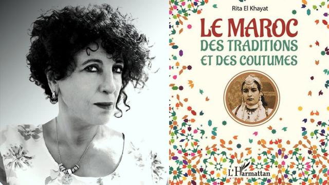Cover Vidéo - Parution du livre «le Maroc des traditions et des coutumes», de Rita El Khayat