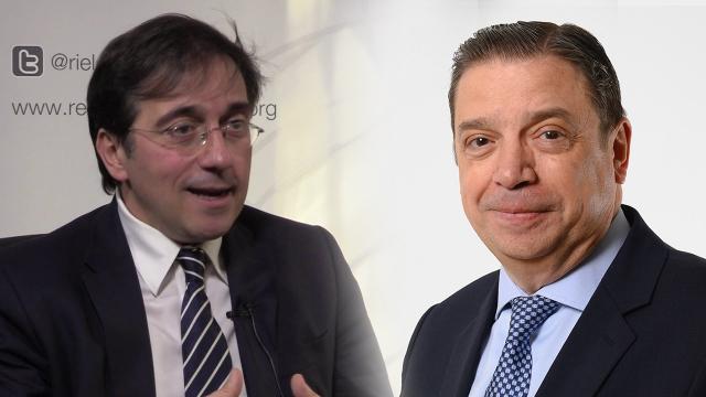 Photomontage : Luis Planas et José Manuel Albares