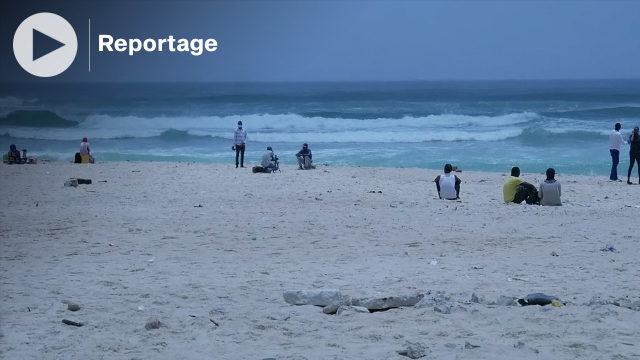 """Vidéo. Alerte à """"Malibu"""": la plage de Dakar qui a fait 9 morts, le temps d'un après-midi de baignade"""