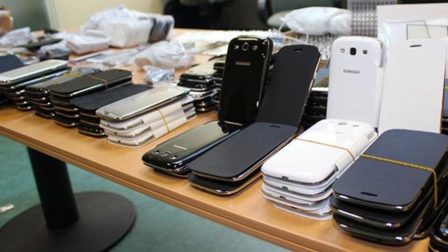 Saisie smartphones