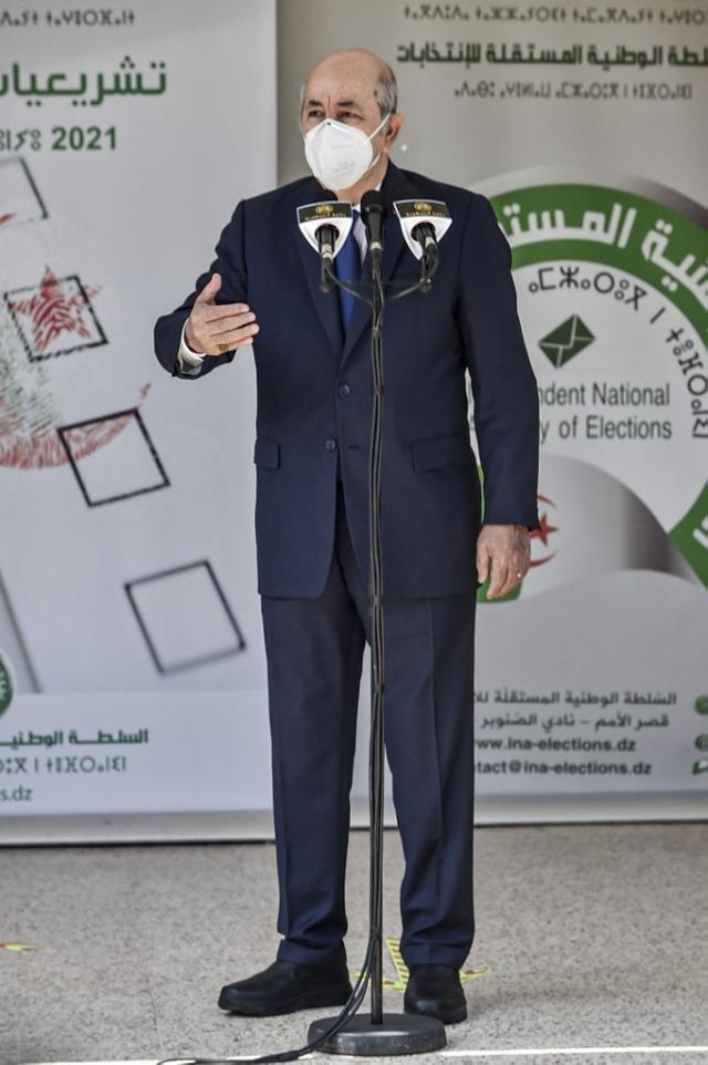 Abdelmadjid Tebboune - Législatives - Algérie