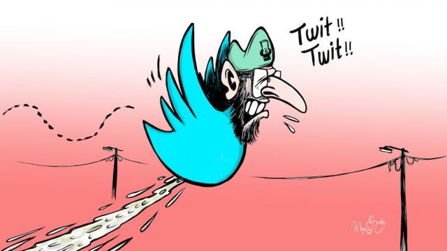 Image: Dessin2Juin, El Othmani, le tweet de trop