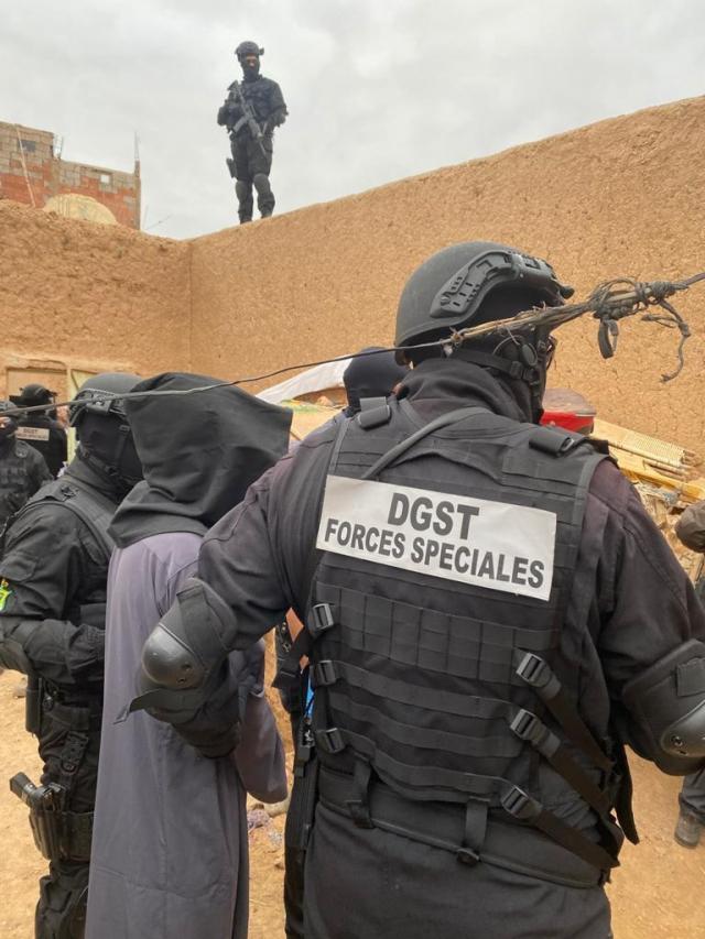 Le BCIJ démantèle une cellule terroriste à Sid Zouine près de Marrakech