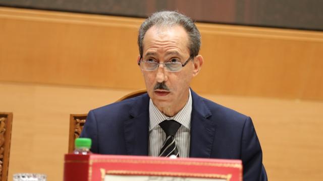 Moulay El Hassan Daki, procureur général du Roi près la Cour de cassation, président du ministère public.
