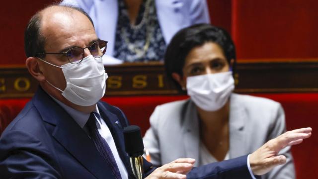 Jean Castex - Premier ministre France - Assemblée nationale